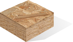 Plant for the production of OSB panels